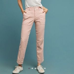 NWT Anthropologie The Wanderer Utility Pants Rose